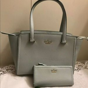 Kate Spade Cameron Lottie MistyMint Handbag Wallet